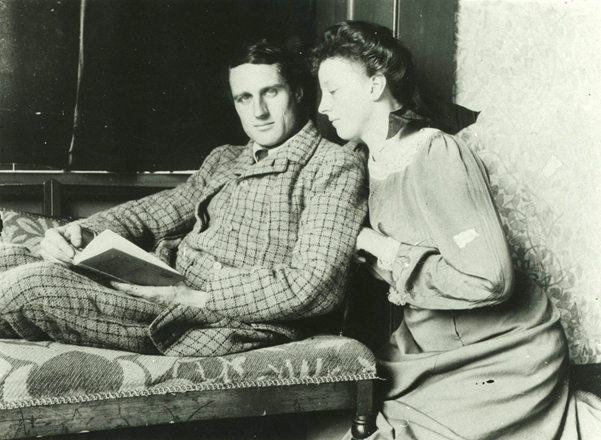 Photograph of Charles and Molly Trevelyan