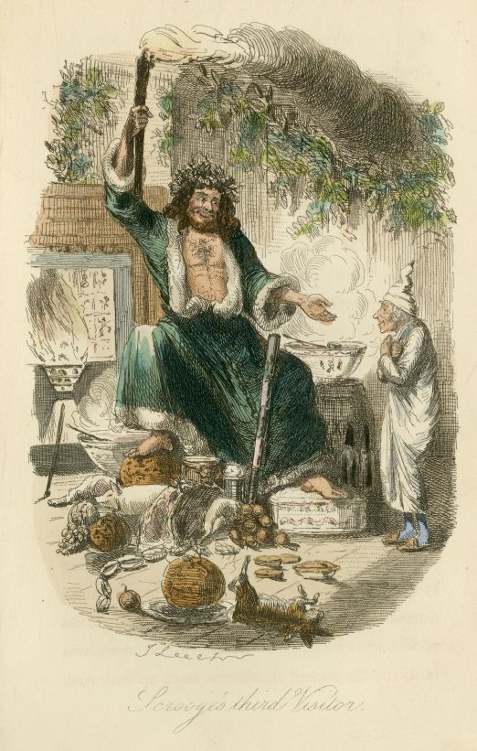 Illustration from Charles Dickens' book, A Christmas Carol