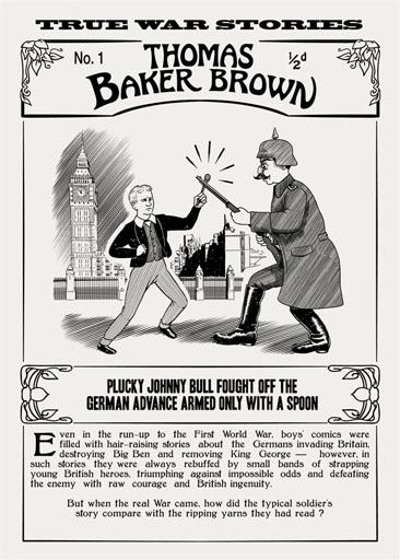 Thomas Baker Brown Comic