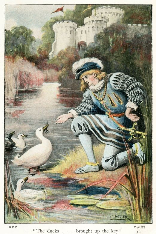 Illustration from Fairy tales by Jakob and Wilhelm Grimm