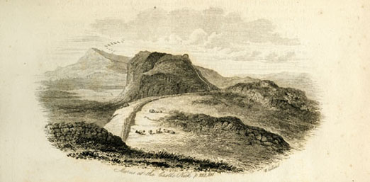 Illustration of Hadrian's Wall