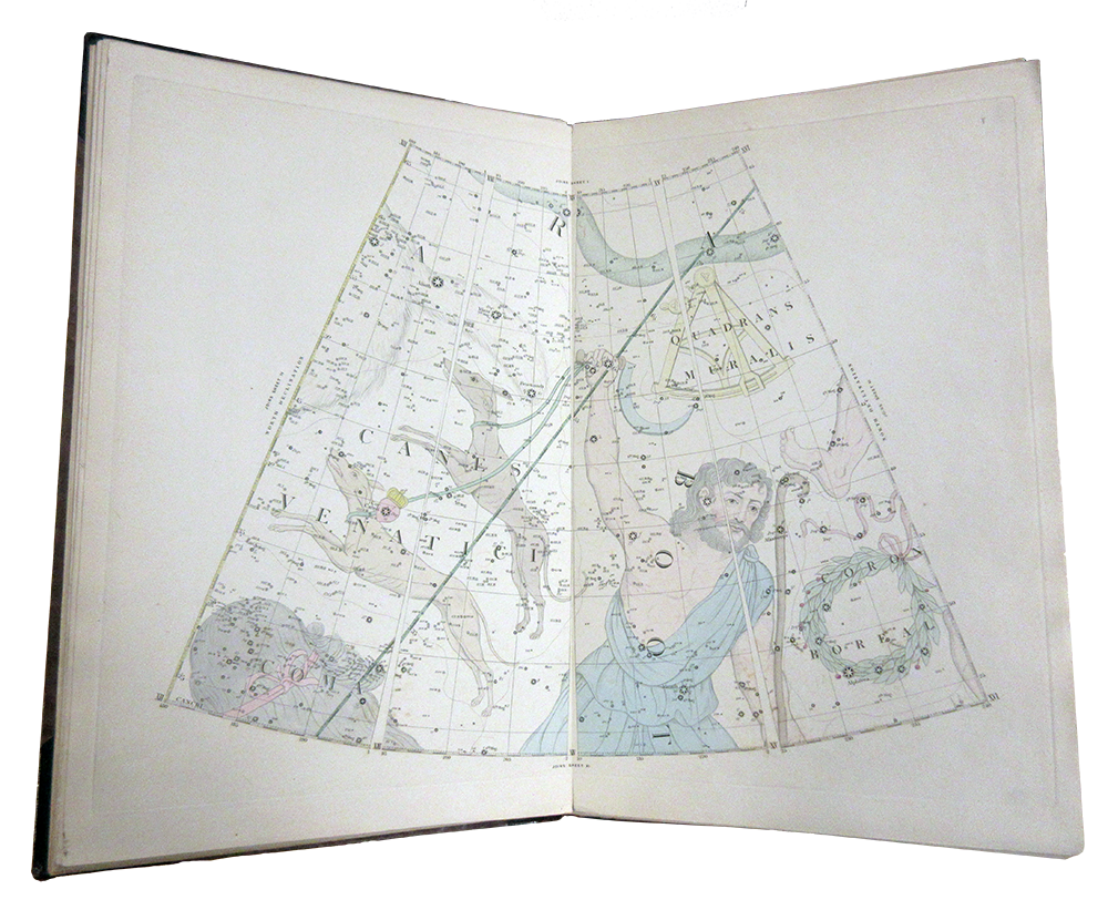 Page from Malby's Celestial Atlas