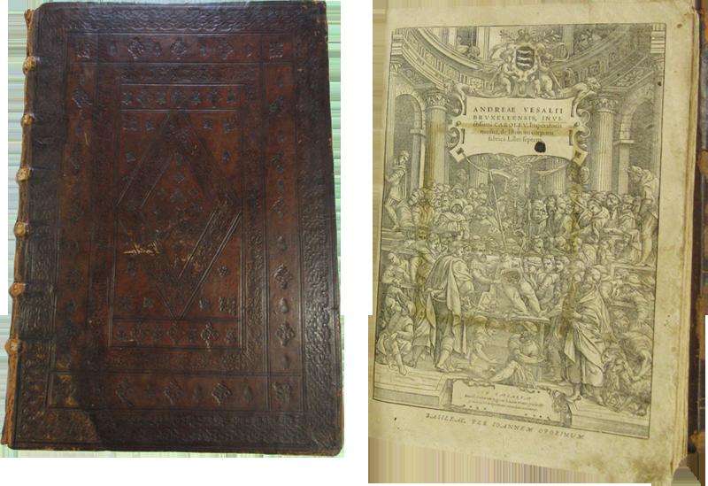 'De Humani Corporis Fabrica' book