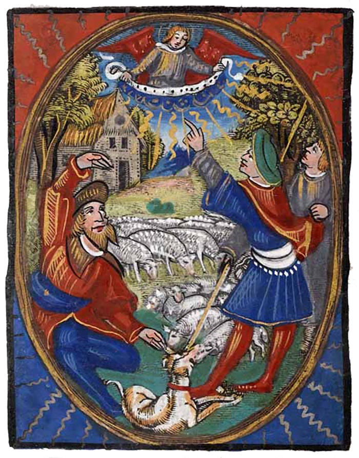 Page from The Book of Hours