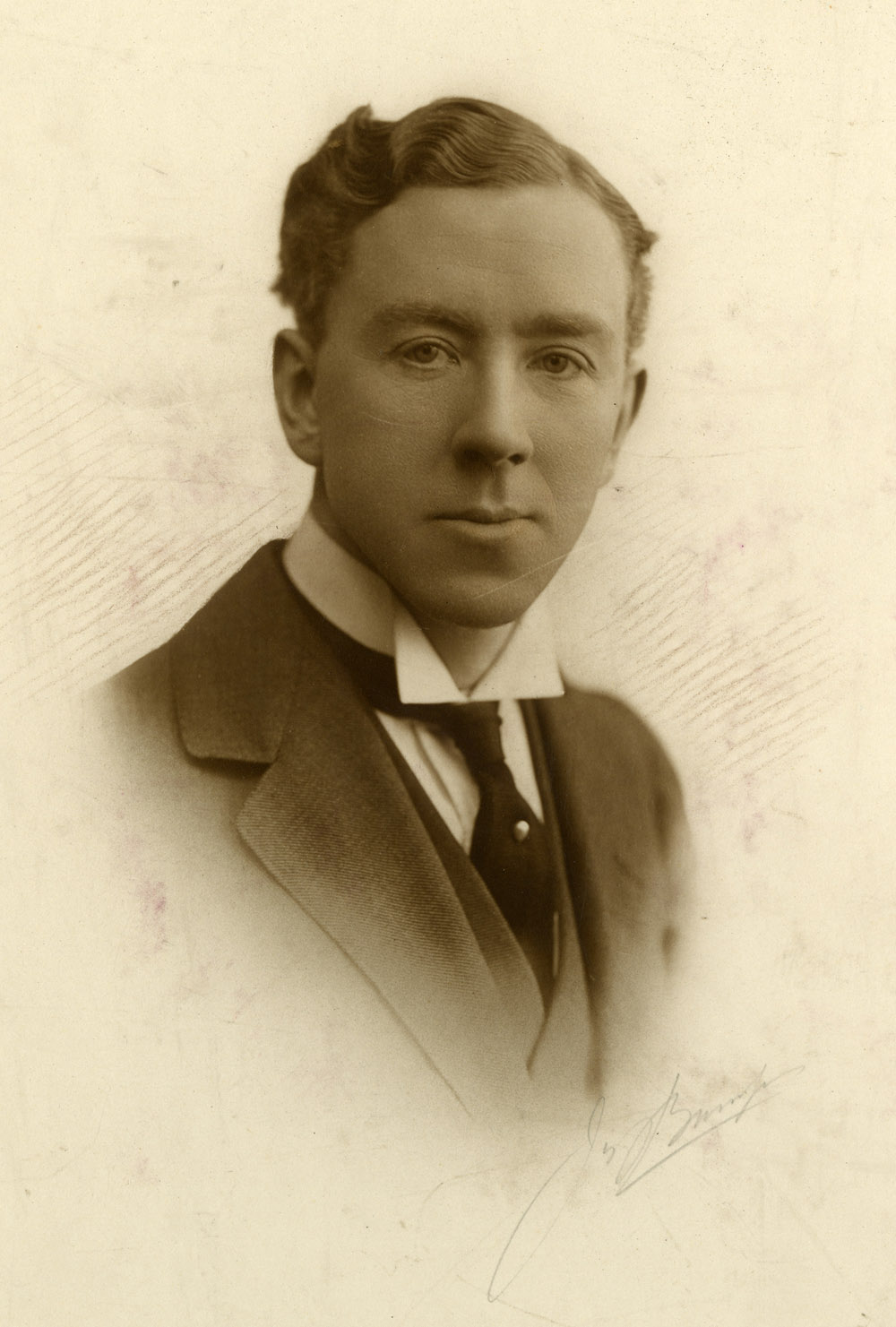 Photograph of Professor Frederick Pybus